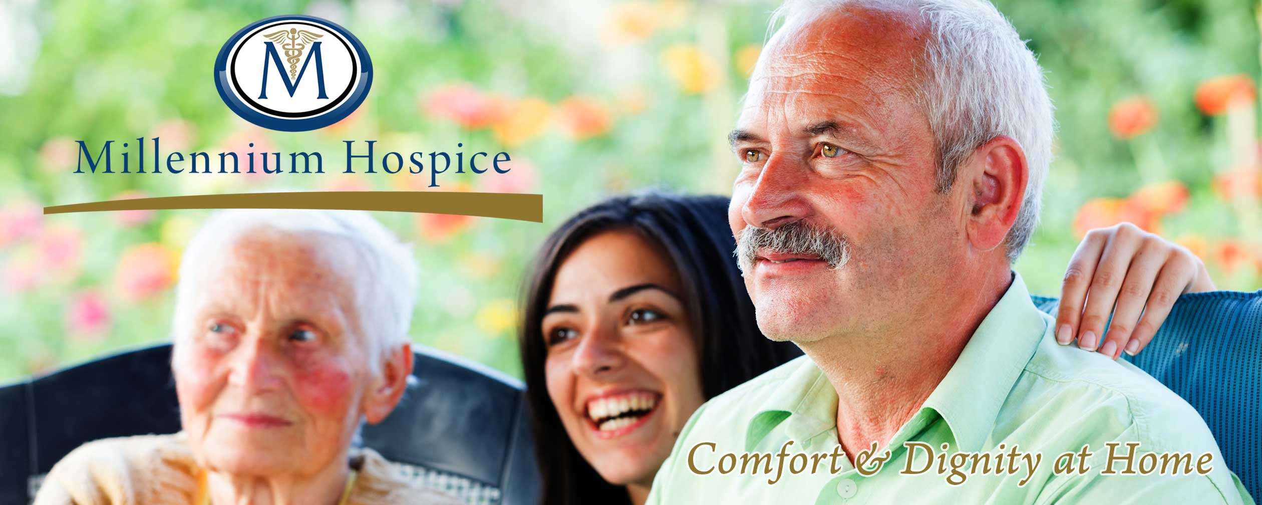 Hospice patients and nurse in north Houston, Texas area.